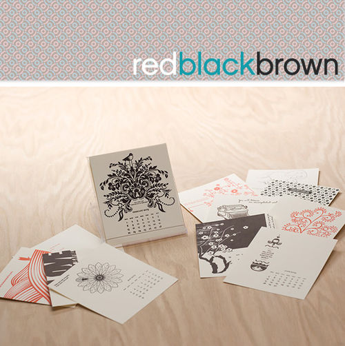 Redblackbrown