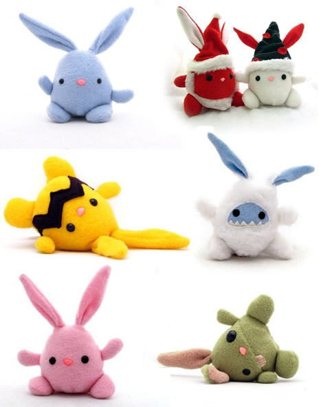 Bunnique_plushies